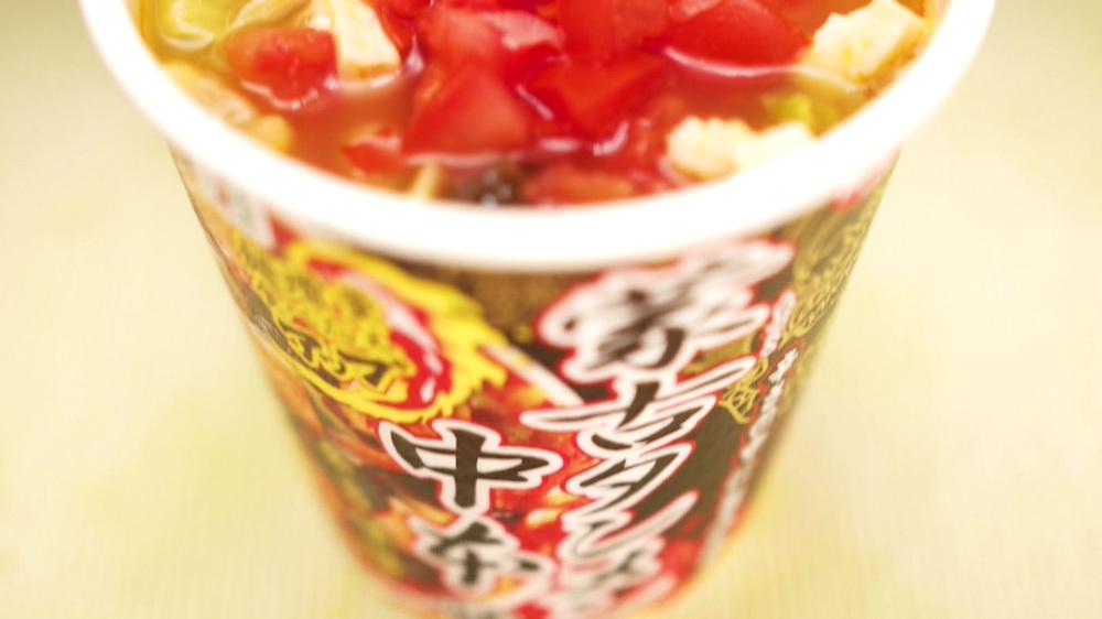 タンメン 麺 蒙古 カップ