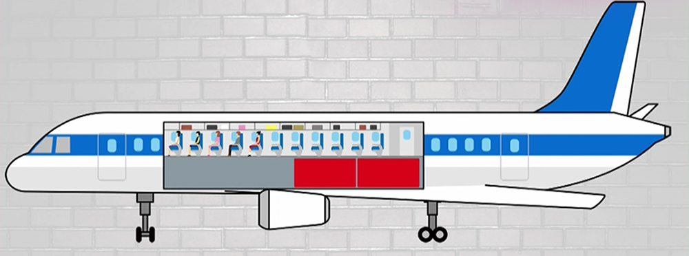 乗客によって荷物の積み込み方を配慮