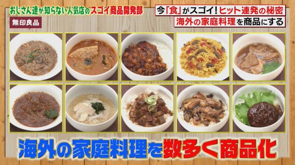 海外の家庭料理を数多く商品化